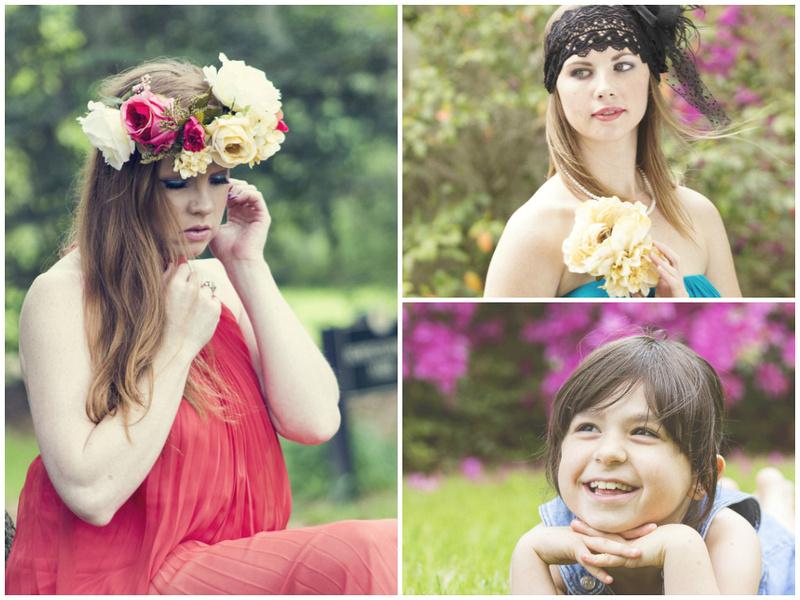Dominikii Coleman Photography | Garden Maidens of Magnolia ...